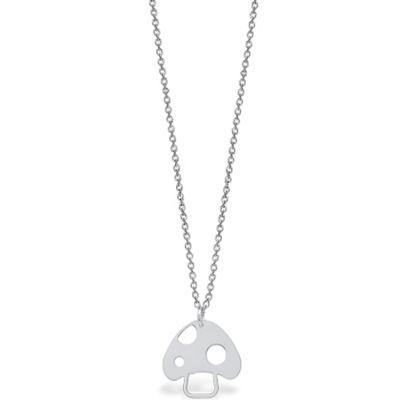 Collier Mini Coquine champignon (argent 925°)  par Coquine