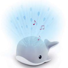 Projecteur d'ambiance Wally la baleine grise
