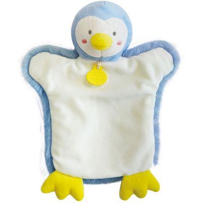 Doudou marionnette Pingouin  par Doudou et Compagnie