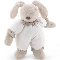 Peluche lapin Etoile blanc (30 cm)