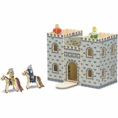 Château en bois pliant et portatif