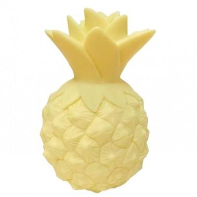 Mini veilleuse ananas jaune  par A Little Lovely Company