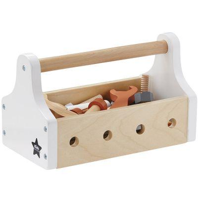 Boîte à outils en bois Star natural (20 pièces)  par Kid's Concept