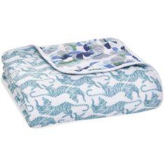 Couverture de rêve Dream blanket en coton Dancing Tigers (120 x 120 cm)