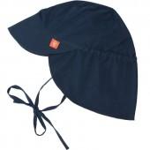 Casquette anti-UV Splash & Fun navy bleu (0-6 mois) - Lässig