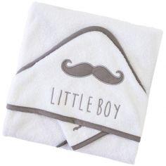 Cape de bain + gant Little Boy (75 x 75 cm)