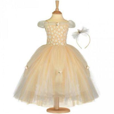 Déguisement princesse dorée (3-5 ans) Travis Designs