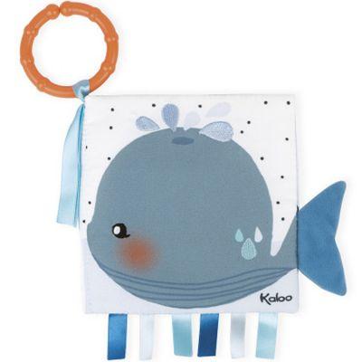 Livre bébé Le baleineau triste Kaloo