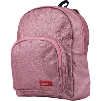 Petit sac à dos à paillettes Glitter rose  par Bakker made with love