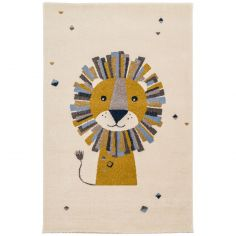 Tapis rectangulaire Lion (80 x 150 cm)