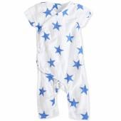 Combinaison Kimono étoiles bleues Ultramarine (9-12 mois : 68 à 73 cm) - aden + anais