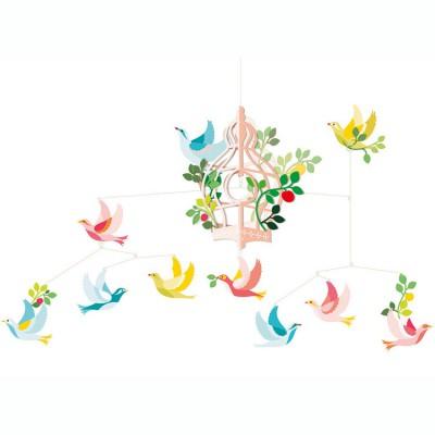 Mobile Cage aux oiseaux  par Djeco