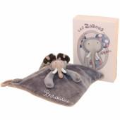 Doudou éléphant personnalisable Les Zazous (25 x 25 cm) - Moulin Roty