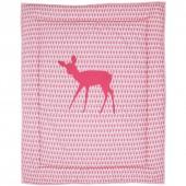 Tapis de jeu Little deer pink (100 x 80 cm) - Taftan