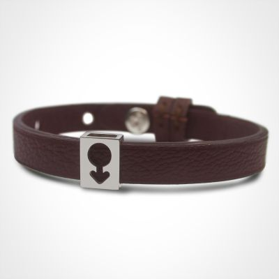 Bracelet Lovely simple personnalisable (or blanc 750°)  par Mikado