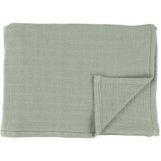 Lot de 2 langes en mousseline de coton Bliss Olive (110 x 110 cm)
