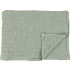 Lot de 2 langes en mousseline de coton Bliss Olive (110 x 110 cm)