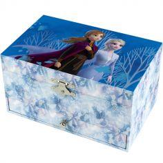 Grande boîte à bijoux musicale La Reine des Neiges II