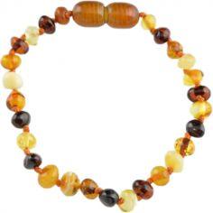 Bracelet ambre enfant multicolore