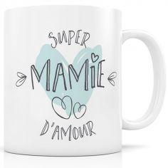 Mug céramique Super Mamie d'amour