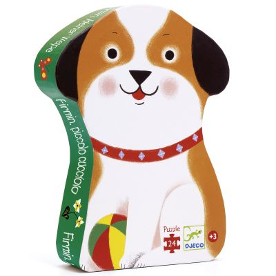 Puzzle Firmin petit chien (24 pièces)  par Djeco