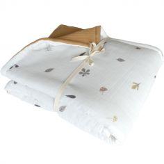 Couverture bébé en gaze de coton Little Forest (70 x 120 cm)