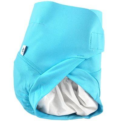 Culotte couche lavable TE2 bleu Poséidon (Taille L) Hamac Paris
