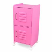 casier de rangement rose chambre bb enfant kidkraft. Black Bedroom Furniture Sets. Home Design Ideas