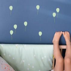 Sticker mural Just A Touch ballons vert clair