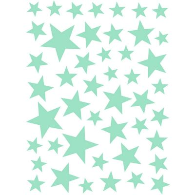 Stickers Etoiles vert menthe Art for Kids