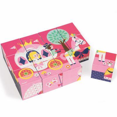Puzzle cube Kubkid Contes de fées (12 cubes) Janod