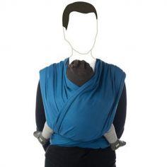 Echarpe de portage BB-Slen coton bio campanula blue (4,6 mètres)