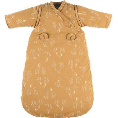 Gigoteuse en jersey bio chaude Mix & Match ocre TOG 1-2 (70 cm)  par Noukie's
