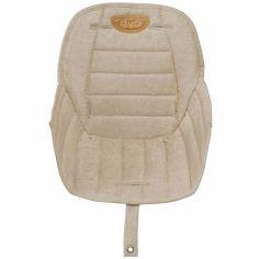 Assise tissu chaise haute Ovo Gold