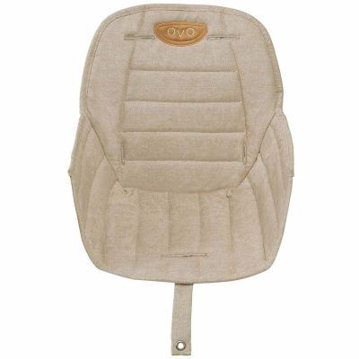 Assise tissu chaise haute Ovo Gold  par Micuna