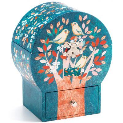Boîte à bijoux musicale Arbre magique