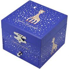 Coffret à bijoux musical cube Sophie La Girafe Milky Way