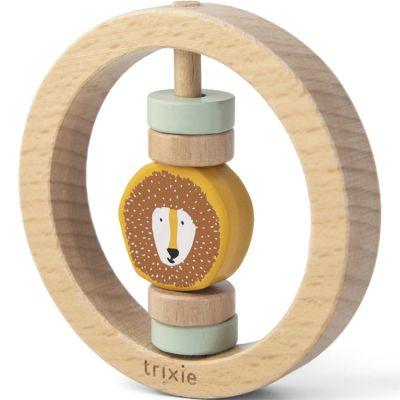Hochet rond en bois Mr. Lion  par Trixie