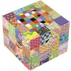 Coffret à bijoux cube Elmer Classic