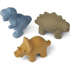 Lot de 3 jouets de bain David Dino multi mix