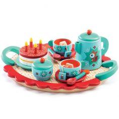 Service à thé en bois Le goûter de Renard