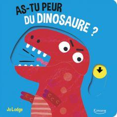 Livre à tirettes As-tu peur du dinosaure ?