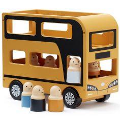 Bus à impériale jaune Aiden