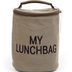 Sac isotherme My lunchbag toile kaki