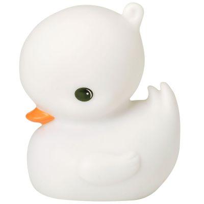 Mini veilleuse canard blanc (11 cm)  par A Little Lovely Company
