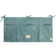 Vide-poches à suspendre Merlin Gold Confetti vert