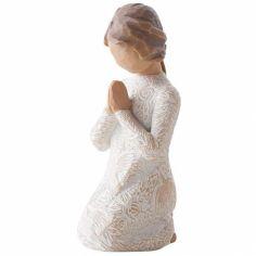 Statuette ''Prière de paix'' (résine)