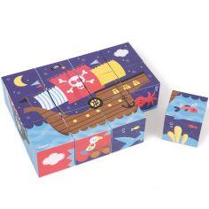 Puzzle cube Kubkid Pirates (12 cubes)