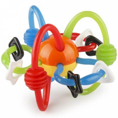 Hochet d'activités fils multicolore