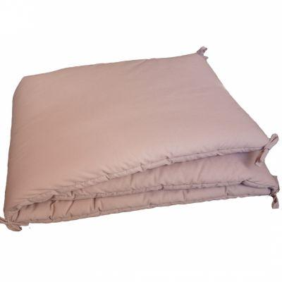 Tour de lit vieux rose (pour lit 60 x 120 cm)  par Luciole et Cie